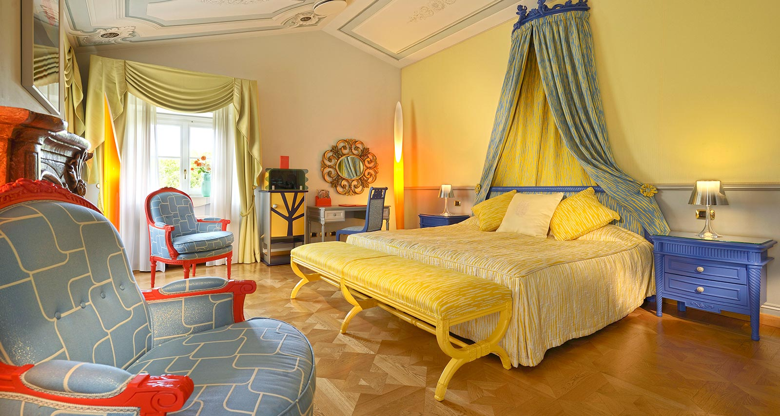 Luxury accommodation Byblos Hotel Verona